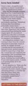 Letter to the Editor 31 July 2014