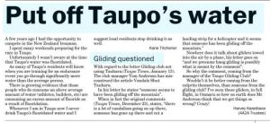 Taupo Times 20 January 2015