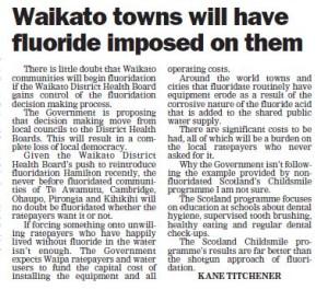 Te Awamutu Courier 9 June Kane Titchener