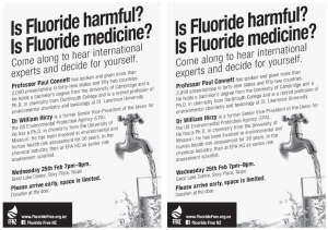 FluorideFree Taupo A5 Brochure