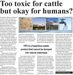 Too toxic for cattle