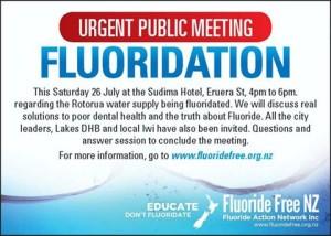 Rotorua Urgent Public Meeting 26 July 2014