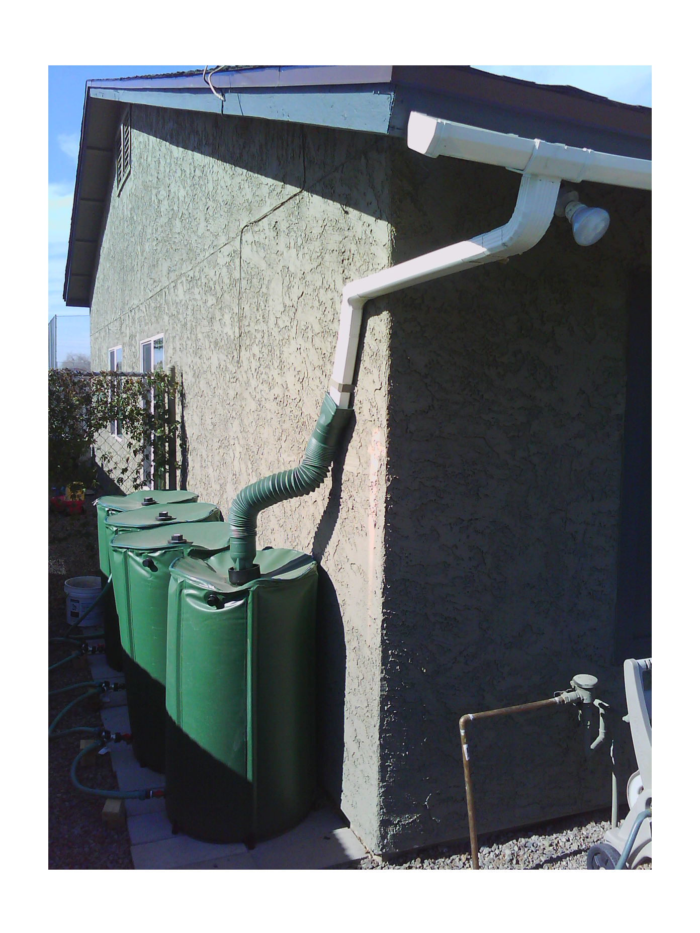 Fluoride free nz fluoride free water for Pictures of rainwater harvesting system