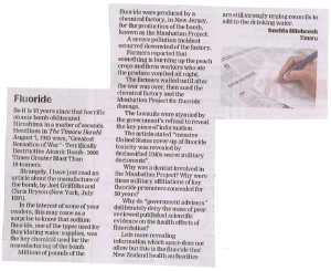 Imelda Sat 15th August Timaru Herald